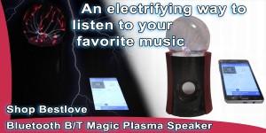 Plasma Ball bluetooth Speaker Shop Best Love